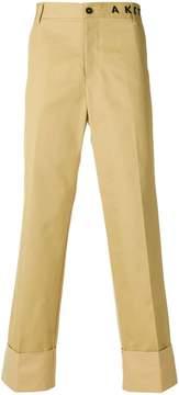 MAISON KITSUNÉ X Ader Error regular trousers