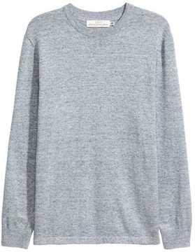 H&M Slub-knit Cotton Sweater