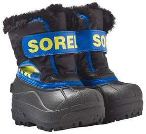 Sorel Toddler Snow CommanderTM Black, Super Blue