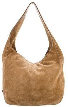 MICHAEL Michael Kors Suede Slouchy Hobo - BROWN - STYLE
