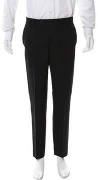 Bottega Veneta Flat Front Wool Pants