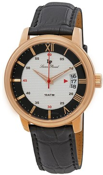 Lucien Piccard Amici White & Black Dial Men's Watch