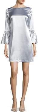 Armani Exchange Women's Satin Shift Dress