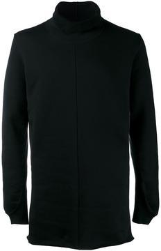 The Viridi-anne high collar long length sweatshirt