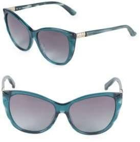 Swarovski 57MM Cat-Eye Sunglasses