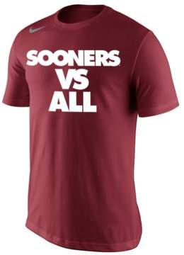 Nike Mens Sooners Vs All Graphic T-Shirt