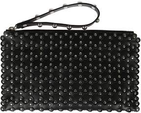 RED Valentino Beaded Clutch