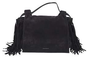 Elena Ghisellini Foxy M Fringed Shoulder Bag