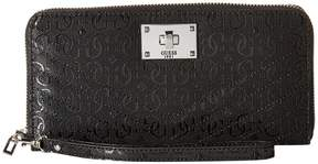 GUESS Halley SLG Large Zip Around Handbags