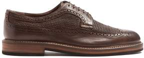 Fratelli Rossetti Woven leather brogues