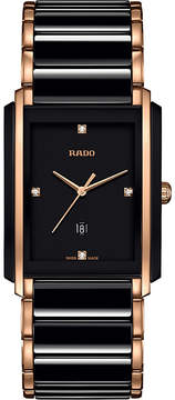 Rado R20207712 Integral ceramic and rose gold watch