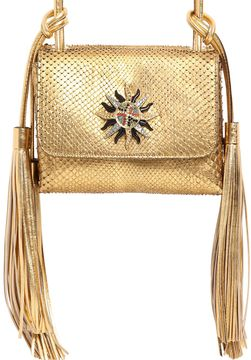 Small Swarovski Sun Python Shoulder Bag