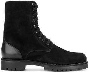 Rene Caovilla military style boots