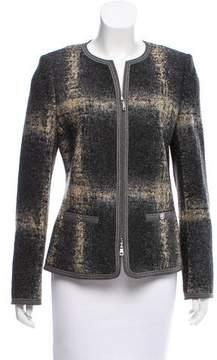 Basler Structured Patterned Blazer
