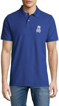 Psycho Bunny Men's Alto Bunny Cotton Polo