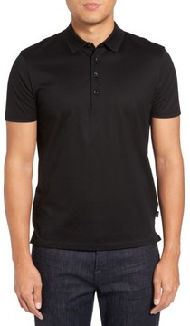 BOSS Men's Pack Trim Fit Pique Polo
