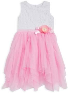 Us Angels Little Girl's Cascade Tulle Dress