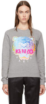Kenzo Grey Limited Rainbow Geo Tiger Sweatshirt