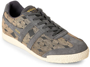 Gola Charcoal & Gold Harrier Leaf Low Top Sneakers