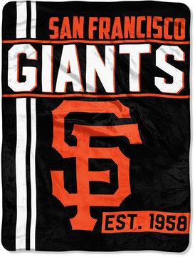 Northwest Company San Francisco Giants Micro Raschel 46x60 Walk Off Blanket