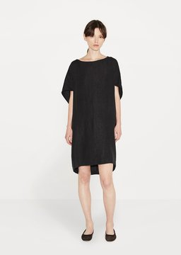 Black Crane Geometric Dress Black Size: Small