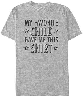 Fifth Sun Athletic Heather 'Favorite Child Gave Me This Shirt' Tee