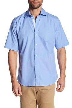 Tailorbyrd Short Sleeve Trim Fit Woven Shirt (Big & Tall Available)