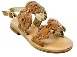 Jack Rogers Girls' Little Miss Lauren Leather Sandal.