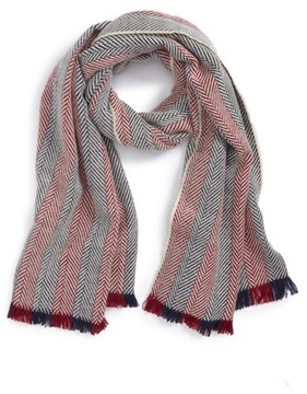 BP Women's Two Tone Herringbone Scarf