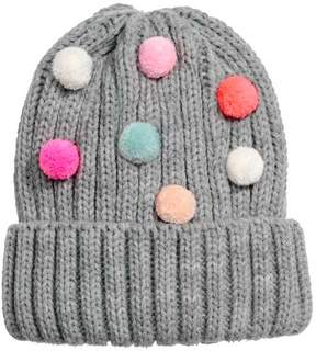 H&M Hat with Pompoms