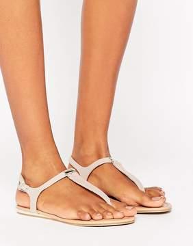 Call it SPRING Blinder Blush Toe Post Sandals