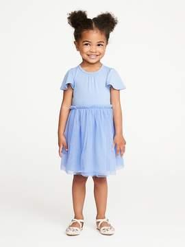 Old Navy Flutter-Sleeve Tutu Dress for Toddler Girls