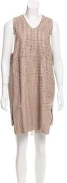 Damir Doma Leather Eyelet Dress w/ Tags