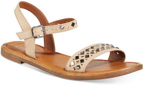 Material Girl Delany Flat Sandals, Created for Macy's Women's Shoes