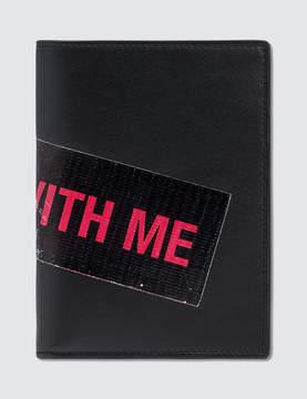 Raf Simons Printed Wallet