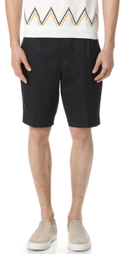 TOMORROWLAND Cotton Twill Easy Shorts