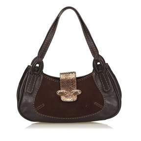 Tod's Brown Leather Handbag