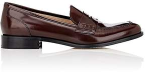 Barneys New York Women's Spazzolato Leather Penny Loafers