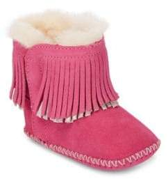 UGG Baby's Branyon Suede Fringe Bootie