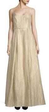 Aidan Mattox Organza Long Dress