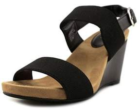 Style&Co. Style & Co Fillipip Open Toe Synthetic Wedge Sandal.