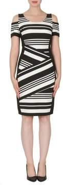 Joseph Ribkoff Textured Stripe Dress