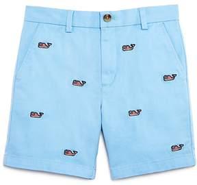 Vineyard Vines Boys' Embroidered Flag-Print Whale Breaker Shorts - Little Kid, Big Kid