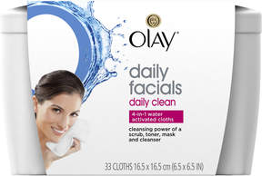 Olay Daily Clean 4-in-1 Water Activated Cleansing Cloths