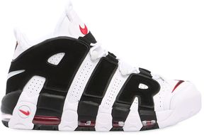 Air More Uptempo Leather Sneakers