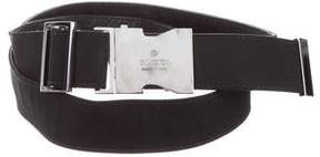 Gucci Logo Canvas Belt