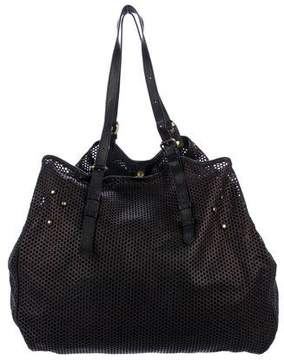 Jerome Dreyfuss Pat Perforated Leather Tote