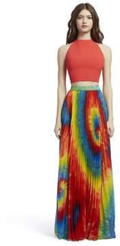 Alice + Olivia Shannon Tie Dye Maxi Skirt