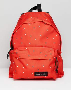 Eastpak Red Hand Cursor Padded Pak'r Backpack