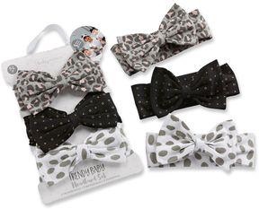 Baby Aspen Baby Girl Trendy Baby 3-pk. Bow Headbands